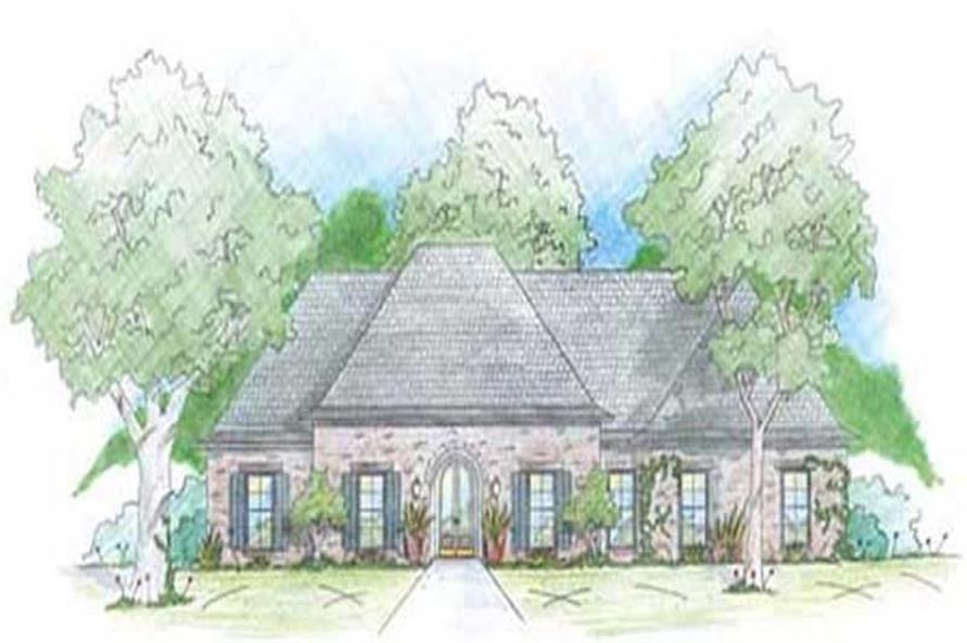 Main image for house plan # 9645