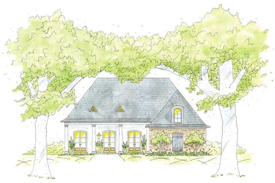 Main image for house plan # 9628