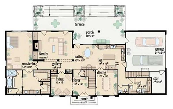 Colonial french southern house plans home design for French colonial house plans