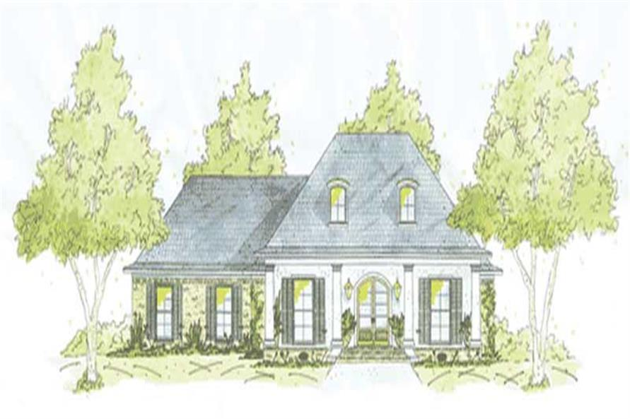 Main image for house plan # 9634