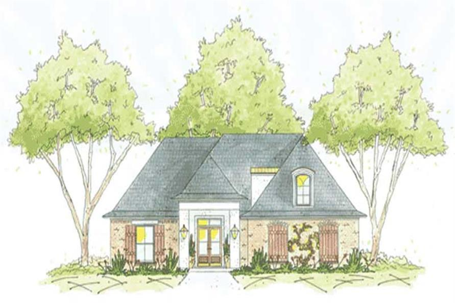 Main image for house plan # 9632