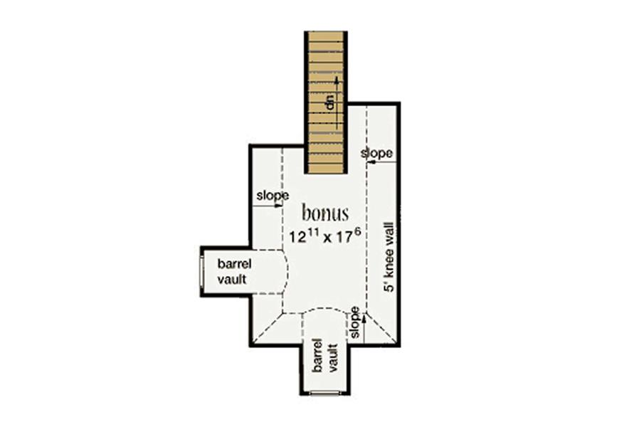 BONUS ROOM of this 3-Bedroom,1824 Sq Ft Plan -1824