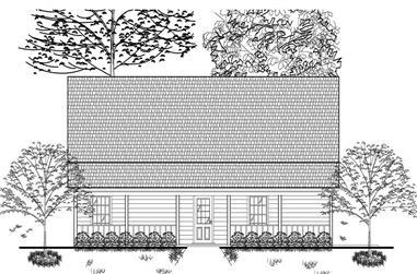3-Bedroom, 1687 Sq Ft Cape Cod Home Plan - 140-1010 - Main Exterior