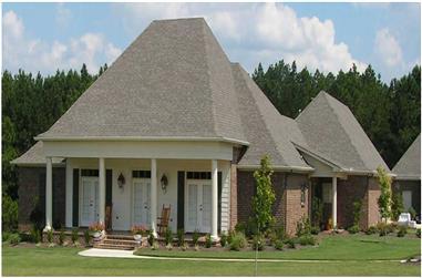 3-Bedroom, 3243 Sq Ft Cape Cod Home Plan - 140-1024 - Main Exterior