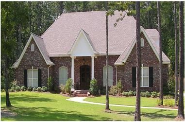 3-Bedroom, 3311 Sq Ft Country Home Plan - 140-1025 - Main Exterior