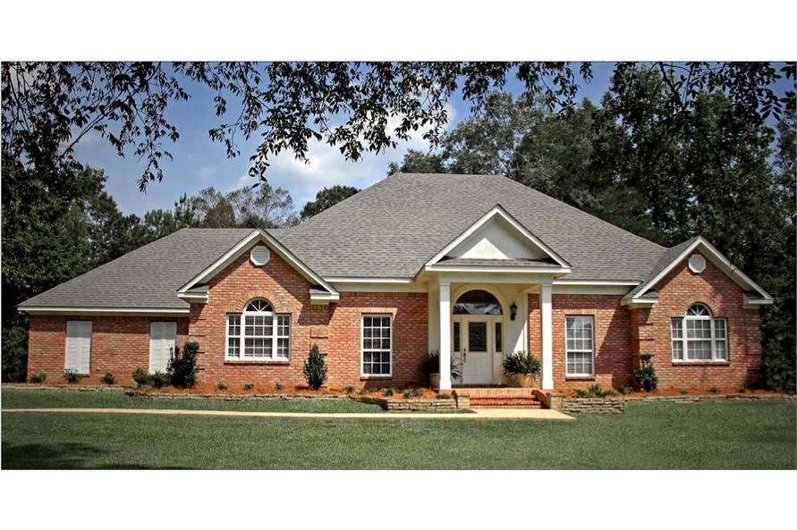 4-Bedroom, 2144 Sq Ft European Home Plan - 140-1029 - Main Exterior