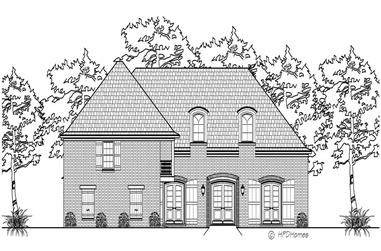 3-Bedroom, 3067 Sq Ft Cape Cod House Plan - 140-1051 - Front Exterior