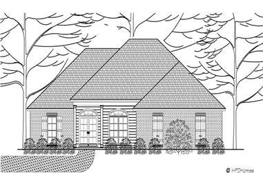 3-Bedroom, 1734 Sq Ft European Home Plan - 140-1052 - Main Exterior