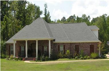 3-Bedroom, 2558 Sq Ft French House Plan - 140-1062 - Front Exterior