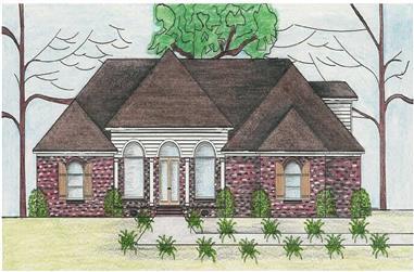 4-Bedroom, 3864 Sq Ft Cape Cod Home Plan - 140-1070 - Main Exterior
