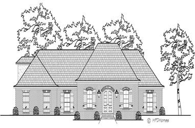 3-Bedroom, 2311 Sq Ft Cape Cod House Plan - 140-1078 - Front Exterior