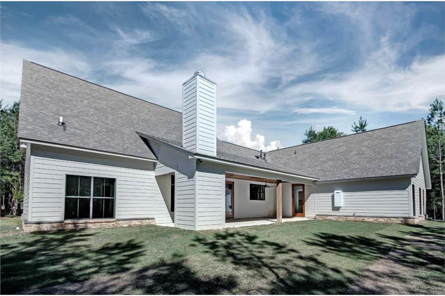 Rear View of this 3-Bedroom,2465 Sq Ft Plan -2465