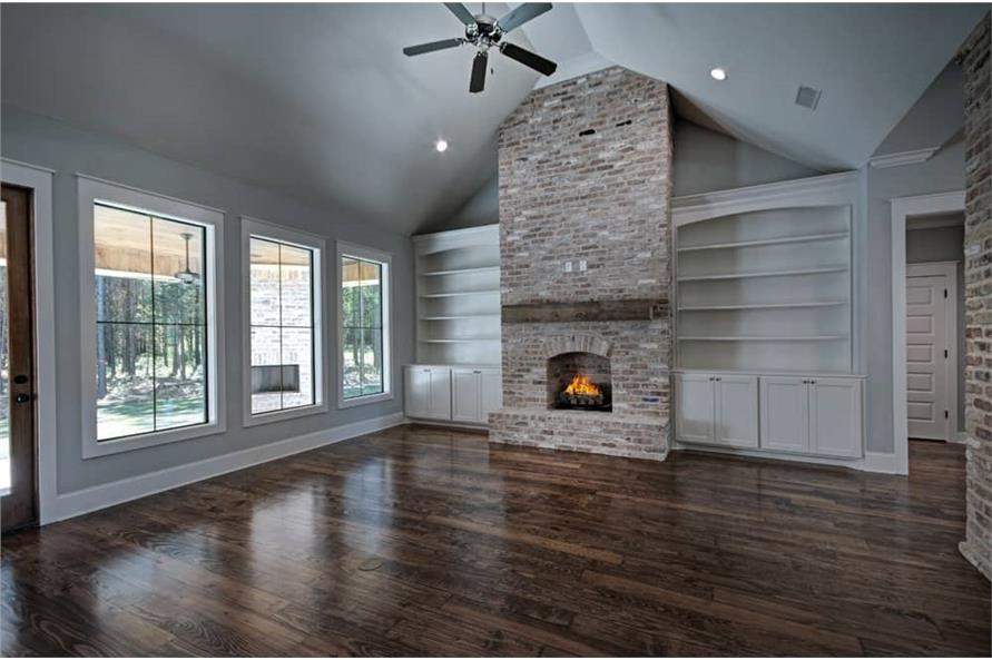 Family Room of this 3-Bedroom,2465 Sq Ft Plan -2465