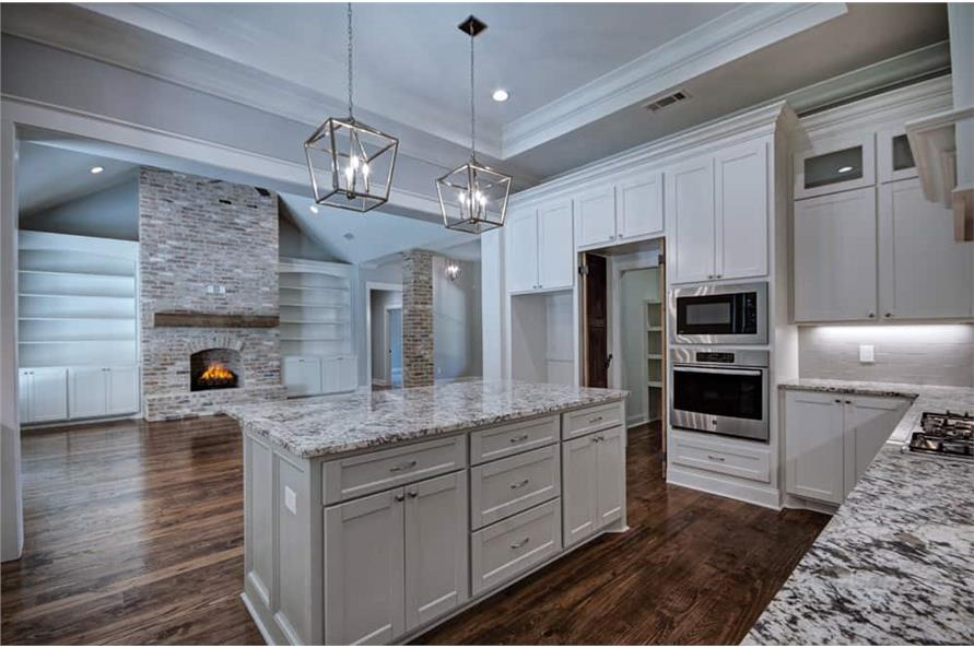 Kitchen of this 3-Bedroom,2465 Sq Ft Plan -2465