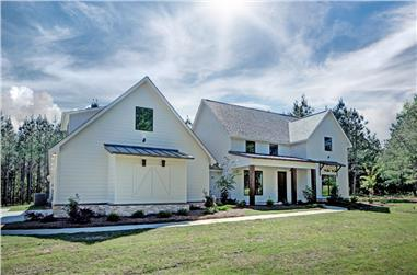 3-Bedroom, 2465 Sq Ft Farmhouse House - Plan #140-1083 - Front Exterior