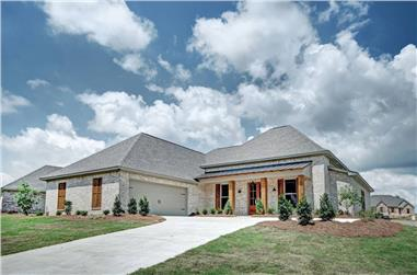 4-Bedroom, 2248 Sq Ft European Home - Plan #140-1084 - Main Exterior
