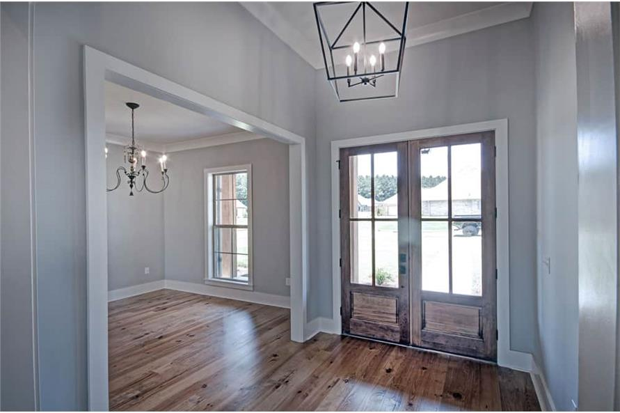 Entry Hall: Foyer of this 4-Bedroom,2343 Sq Ft Plan -2343