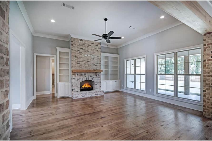 Family Room of this 4-Bedroom,2343 Sq Ft Plan -2343