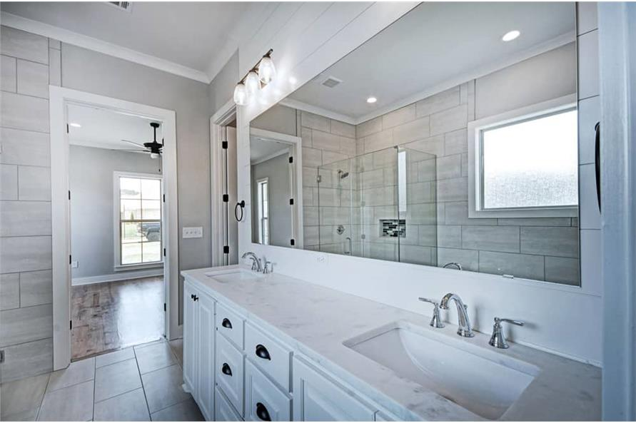 Master Bathroom of this 4-Bedroom,2343 Sq Ft Plan -2343