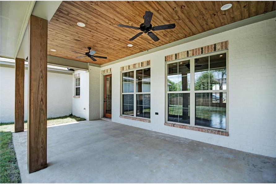 Porch of this 4-Bedroom,2343 Sq Ft Plan -2343