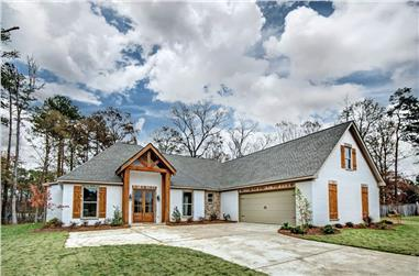 3-Bedroom, 2420 Sq Ft Ranch House - Plan #140-1088 - Front Exterior