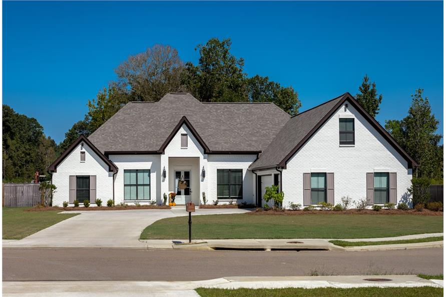 Front View of this 4-Bedroom,2399 Sq Ft Plan -2399
