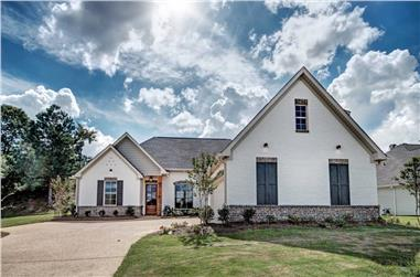 3-Bedroom, 1940 Sq Ft Ranch House - Plan #140-1093 - Front Exterior