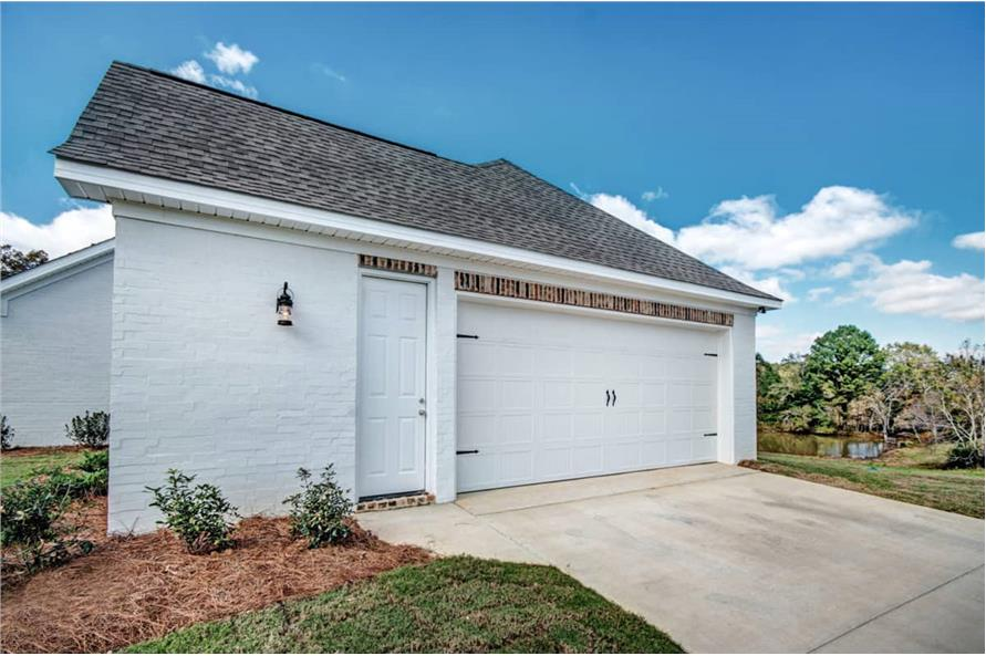 Garage of this 4-Bedroom,2677 Sq Ft Plan -2677