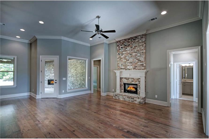 Family Room of this 4-Bedroom,2286 Sq Ft Plan -2286