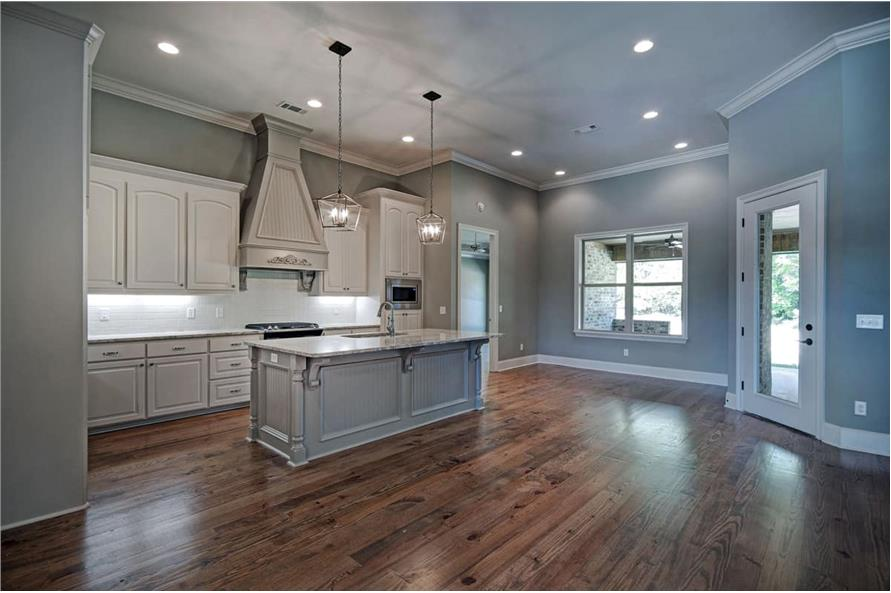 Kitchen: Kitchen Island of this 4-Bedroom,2286 Sq Ft Plan -2286