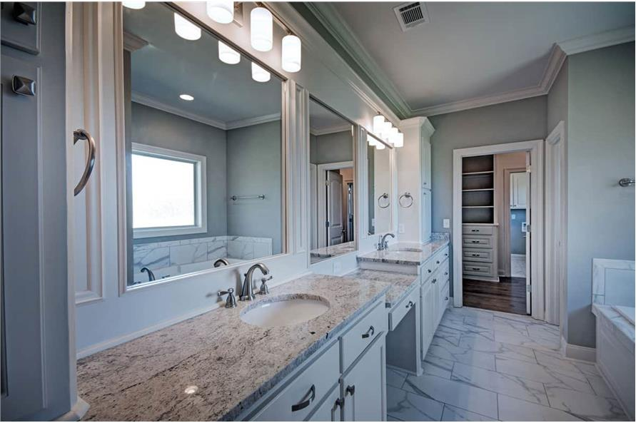 Master Bathroom: Sink/Vanity of this 4-Bedroom,2286 Sq Ft Plan -2286