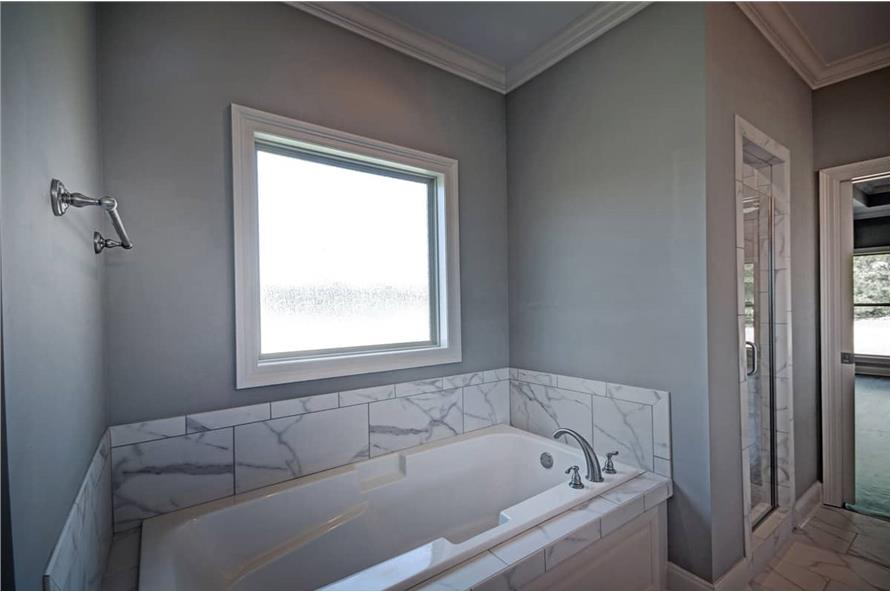 Master Bathroom: Tub of this 4-Bedroom,2286 Sq Ft Plan -2286