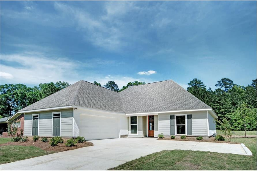 Front View of this 3-Bedroom,1581 Sq Ft Plan -1581