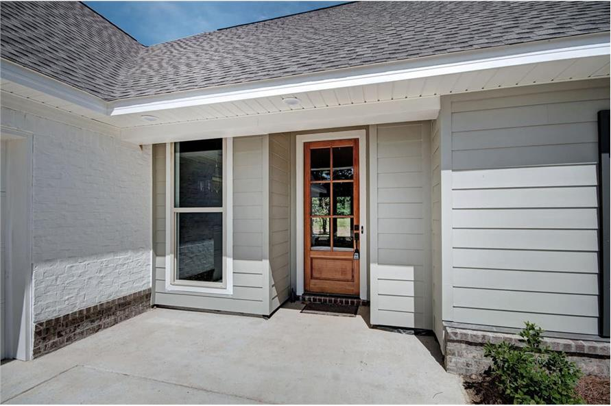 Porch of this 3-Bedroom,1581 Sq Ft Plan -1581