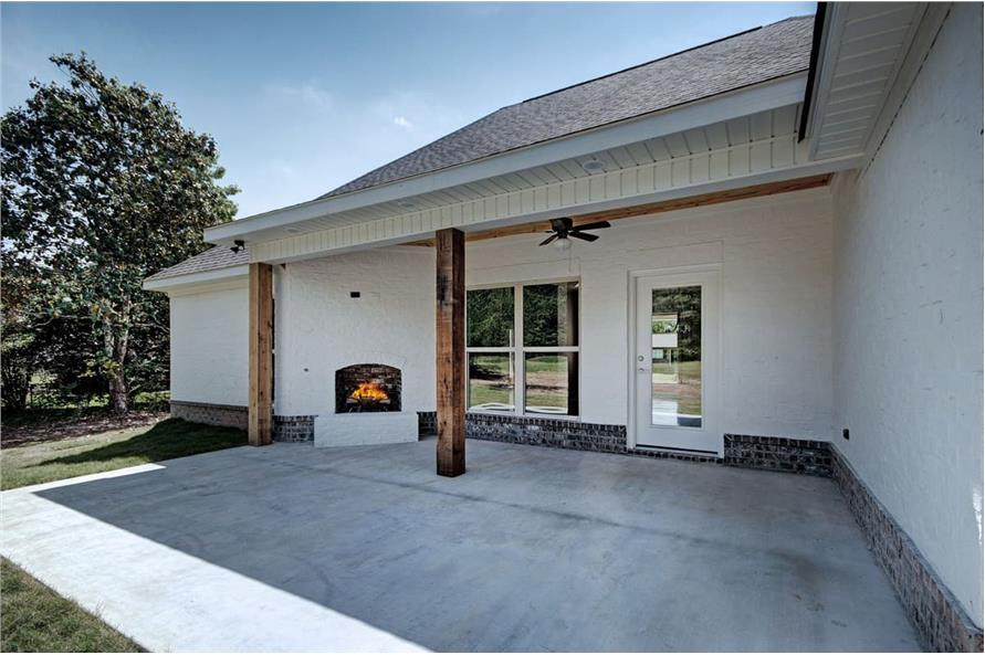 Patio of this 3-Bedroom,1581 Sq Ft Plan -1581