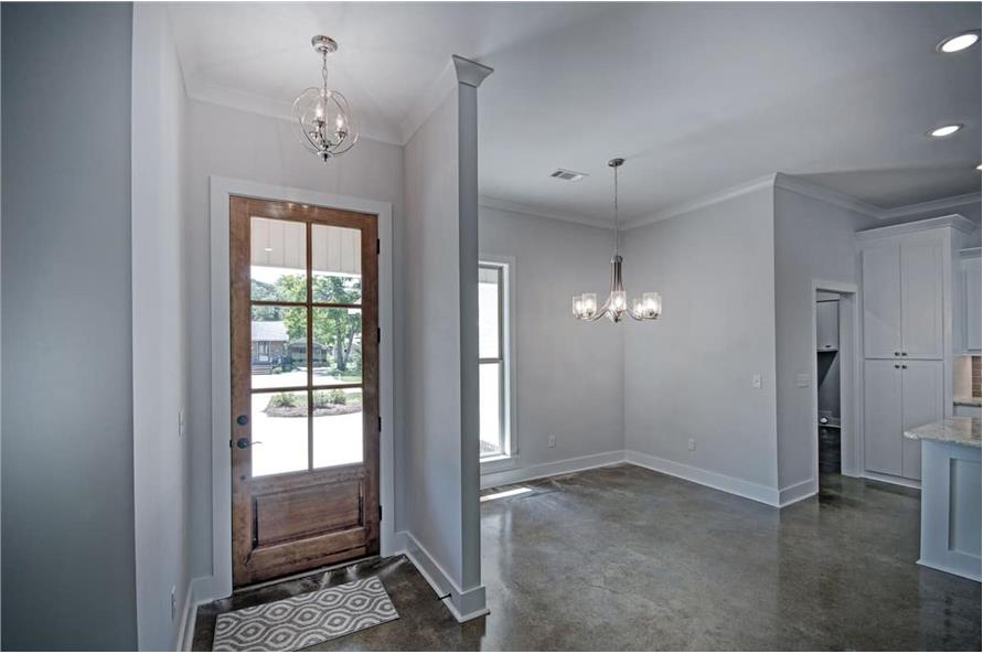 Entry Hall: Foyer of this 3-Bedroom,1581 Sq Ft Plan -1581