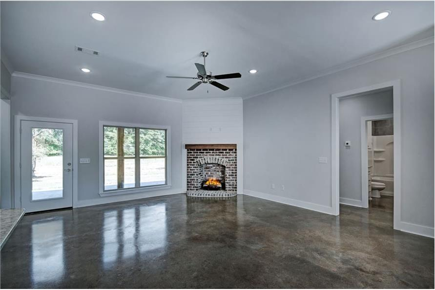 Family Room of this 3-Bedroom,1581 Sq Ft Plan -1581
