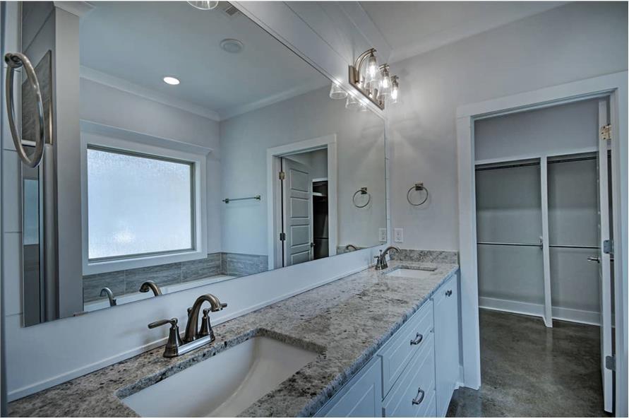 Master Bathroom: Sink/Vanity of this 3-Bedroom,1581 Sq Ft Plan -1581