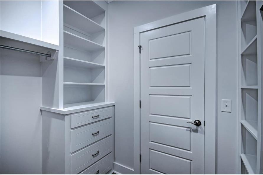 Master Bedroom: Closet of this 3-Bedroom,1581 Sq Ft Plan -1581
