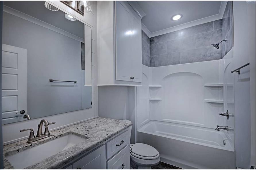 Bathroom of this 3-Bedroom,1581 Sq Ft Plan -1581
