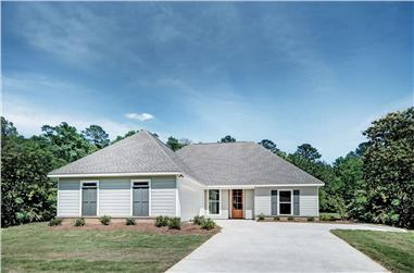 3-Bedroom, 1581 Sq Ft Ranch House - Plan #140-1099 - Front Exterior