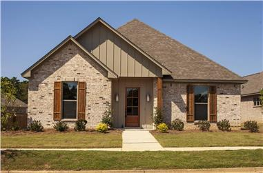 4-Bedroom, 2604 Sq Ft Acadian House - Plan #140-1103 - Front Exterior