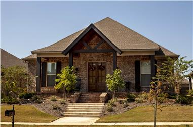 4-Bedroom, 2566 Sq Ft Ranch Home - Plan #140-1104 - Main Exterior