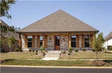 4-Bedroom, 2566 Sq Ft French Home - Plan #140-1105 - Main Exterior