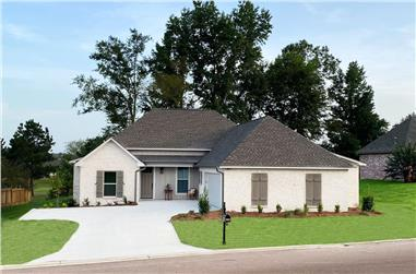 3-Bedroom, 1824 Sq Ft French House - Plan #140-1110 - Front Exterior