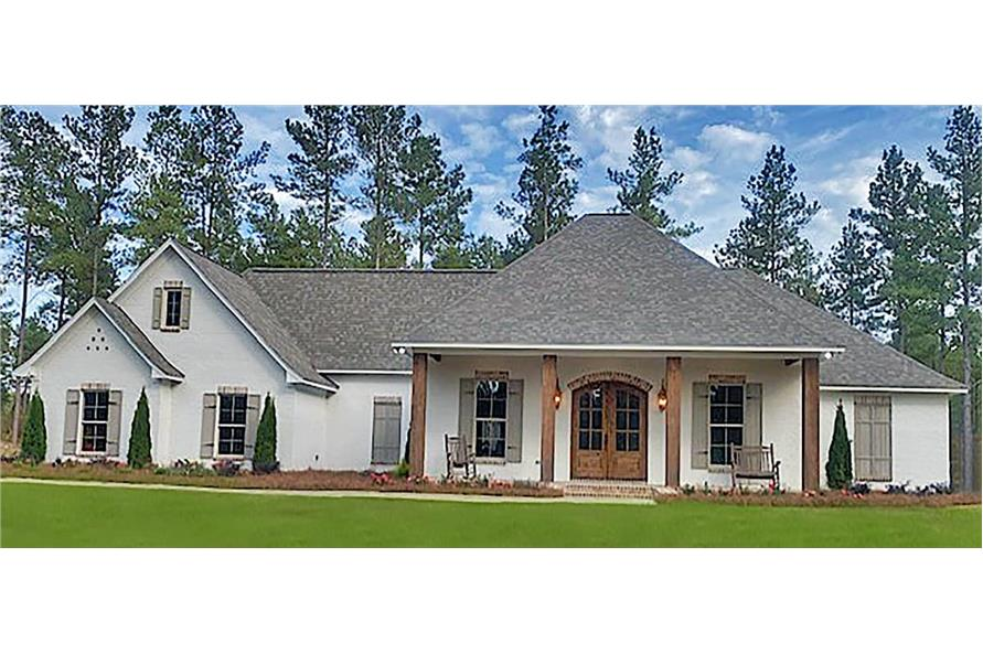 4-Bedroom, 2694 Sq Ft French House - Plan #140-1114 - Front Exterior