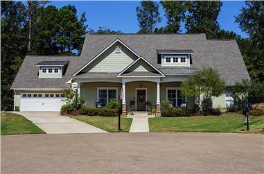 3-Bedroom, 2395 Sq Ft Country Home - Plan - 140-1115 - Main Exterior