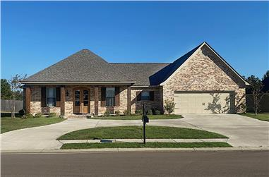 4-Bedroom, 2292 Sq Ft Acadian Style Home - Plan #140-1120 - Main Exterior