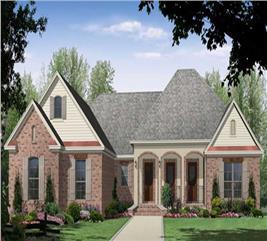 House Plan #141-1003