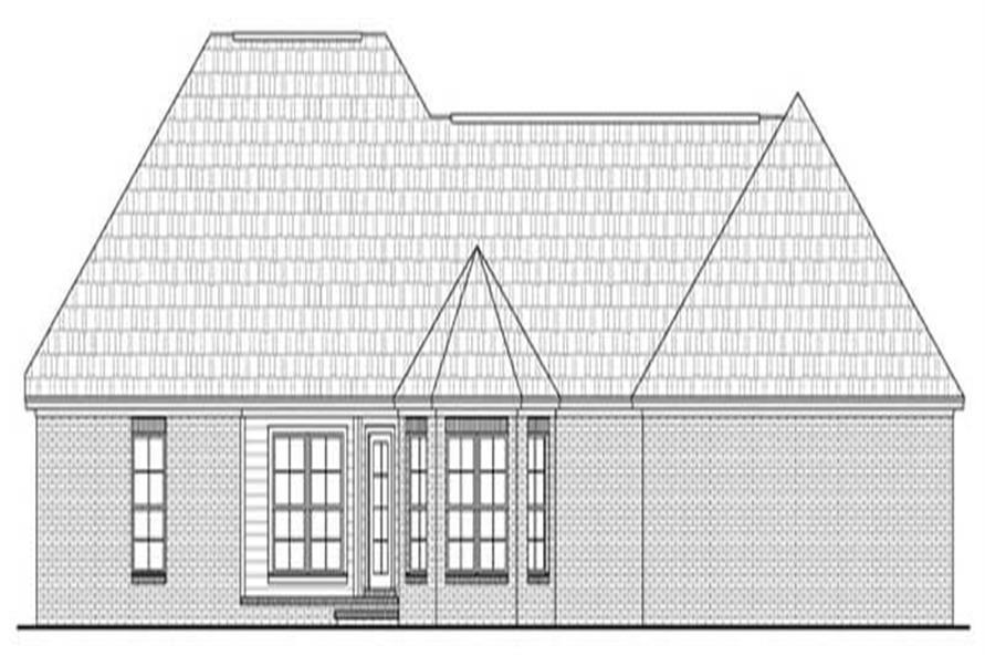 House Plan #141-1006